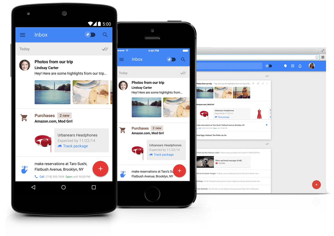 Google Inbox Preview