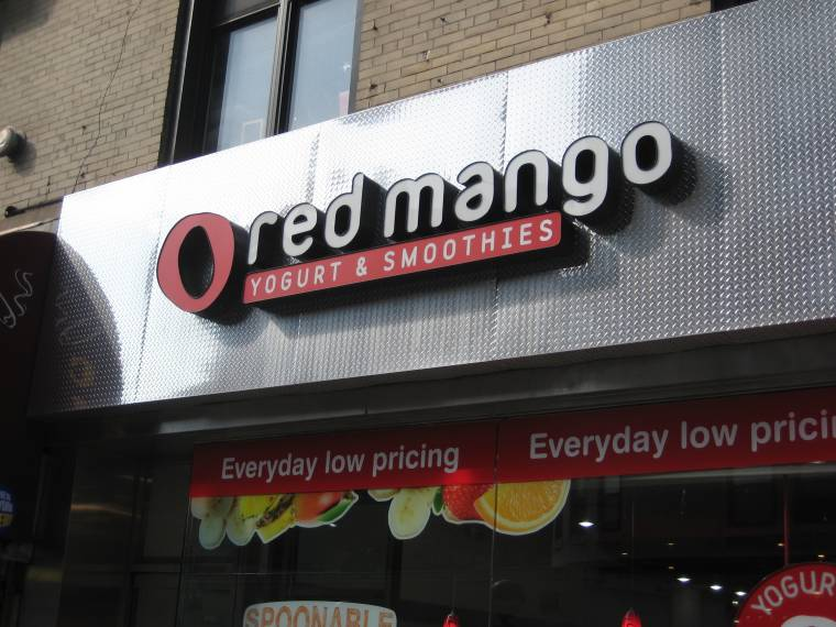 Red Mango Franchise - Red Mango Storefront - Franchise Help