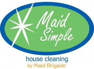 Maid Simple House Cleaning Logo