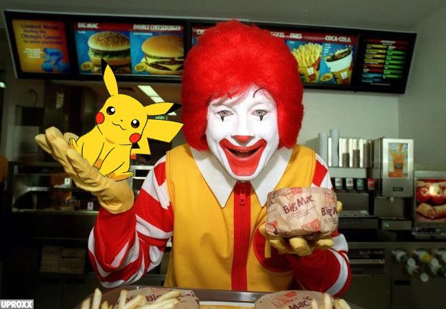 McDonald's Pokemon Go