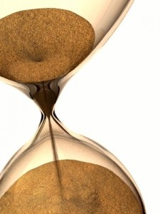 Hour Glass Sand Running Out - Franchise Agreement Expiring