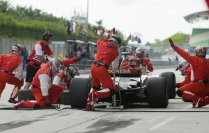 Franchise Business Analogy - Indy Pit Crew Failing at the Crucial Moment