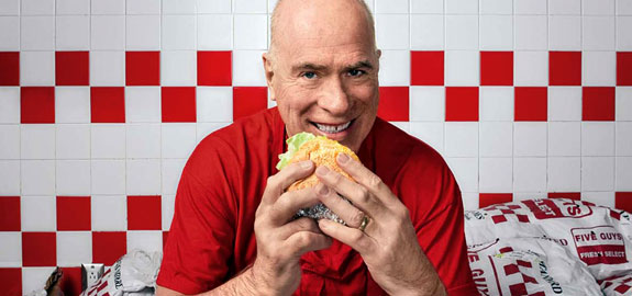 Five Guys Burger & Fries Franchise - Five Guys Founder Jerry Murrell - Franchise Help